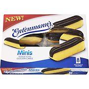 Entenmann's Minis Fudge Ice Golden Cakes, 8 ct.