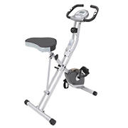 Exerpeutic Magnetic Upright Folding Exercise Bike