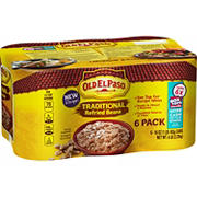 Old El Paso Traditional Refried Beans, 6 pk./16 oz.