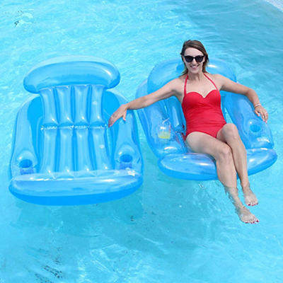 SunSplash Sun Lounges, 2 pk. - Blue