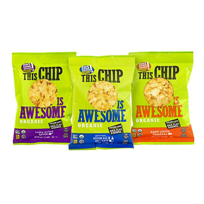 This Chip Is Awesome Organic Popcorn Chips Variety Pack, 24 pk./1 oz.