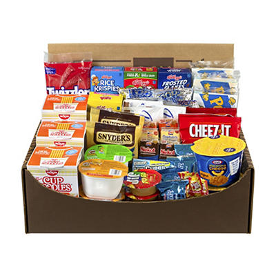 Snack Box Pros Dorm Room Survival Snack Box