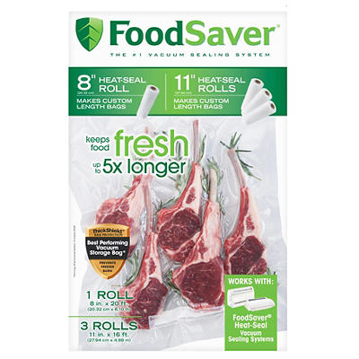 FoodSaver Vacuum Packaging Rolls, 4 pk.