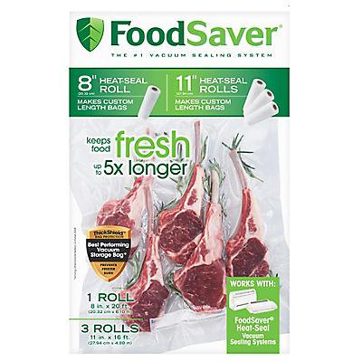 FoodSaver Vacuum Packaging Rolls, 4 pk.