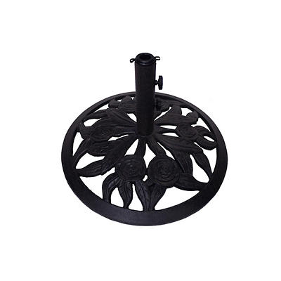 Summerville Rosa Umbrella Base - Antique Bronze