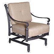 Summerville Empirial Spring Cushioned Patio Club Chair - Antique Bronze
