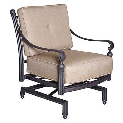 Summerville Empirial Spring Cushioned Patio Club Chair - Antique Bronz