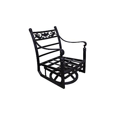 Summerville Empirial Swivel Patio Club Chair - Antique Bronze