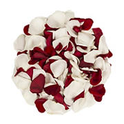 5,000 Rose Petals - Red/White