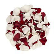 5,000 Rose Petals - Red/White