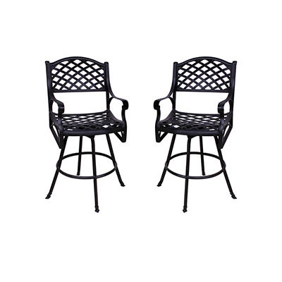 Summerville La Jolla Barstools, 2 pk. - Antique Bronze