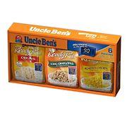 Uncle Ben's Ready Rice Value Assortment Box, 6 ct./8.8 oz.