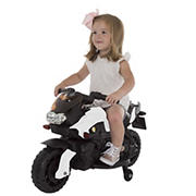 Lil' Rider 2W Motorcycle with Training Wheels - White