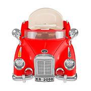 Lil' Rider Classic Car Coupe Ride-On - Red