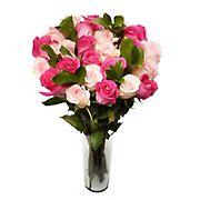 Two Dozen Pink Lady (Dark/Light) Roses Bouquet