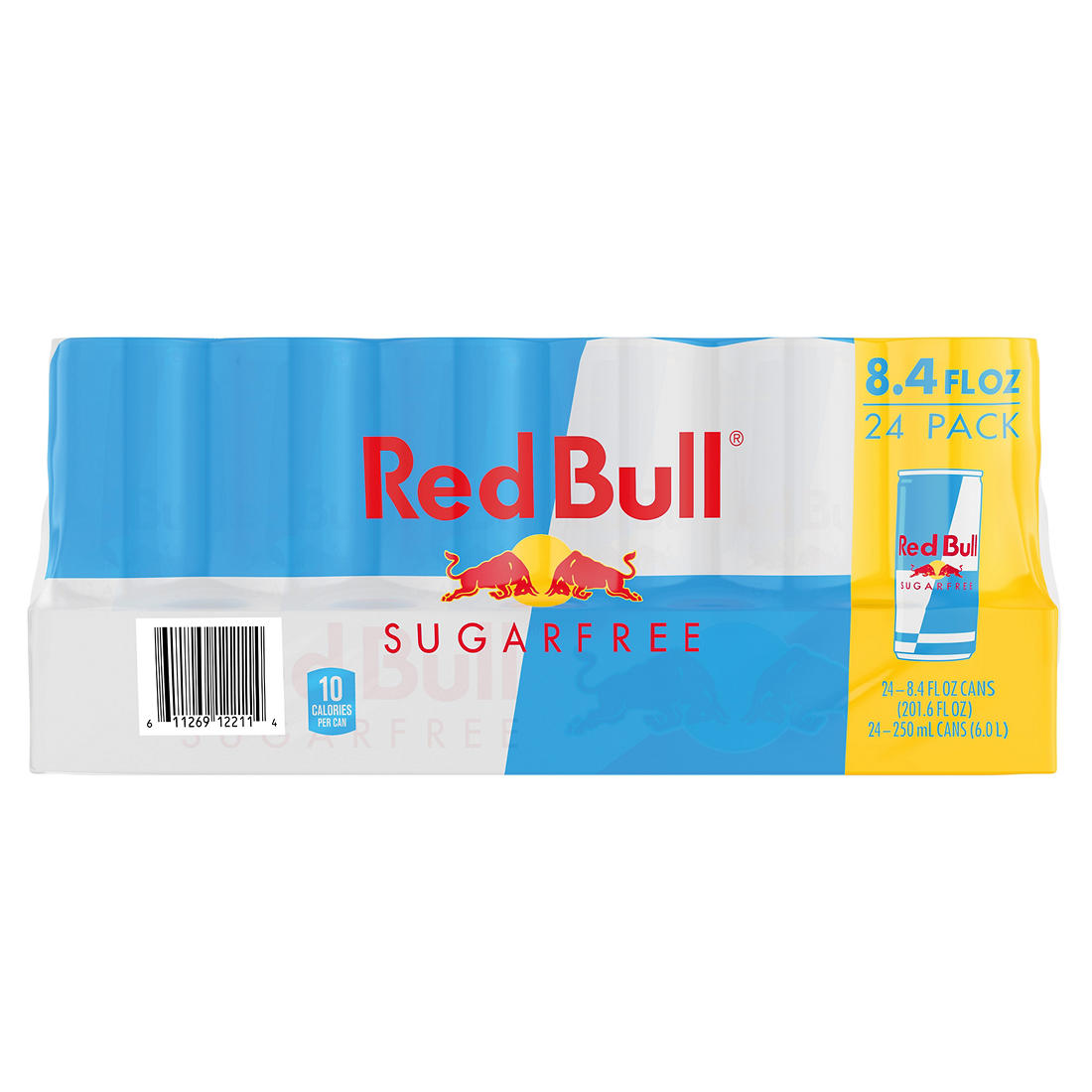 graphic regarding Red Bull Printable Coupons known as Pink Bull Electrical power Consume, Sugar Cost-free, 24 ct./8.4 oz.