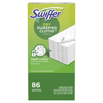 Swiffer Sweeper Dry Sweeping Cloth Refills, 2 pk./43 ct.