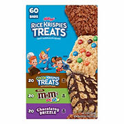 Kellogg's Rice Krispies Treats Variety Pack, 60 ct.