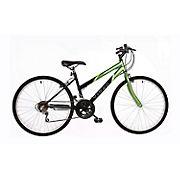 "Titan Wildcat Hardtail Women's 26"" 18-Speed Mountain Bicycle - Lime Green/Black"