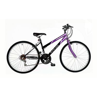 "Titan Wildcat Hardtail Women's 26"" 12-Speed Mountain Bicycle - Purple/"