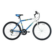 "Titan Pioneer Hardtail Men's 26"" 18-Speed Mountain Bicycle - Blue"