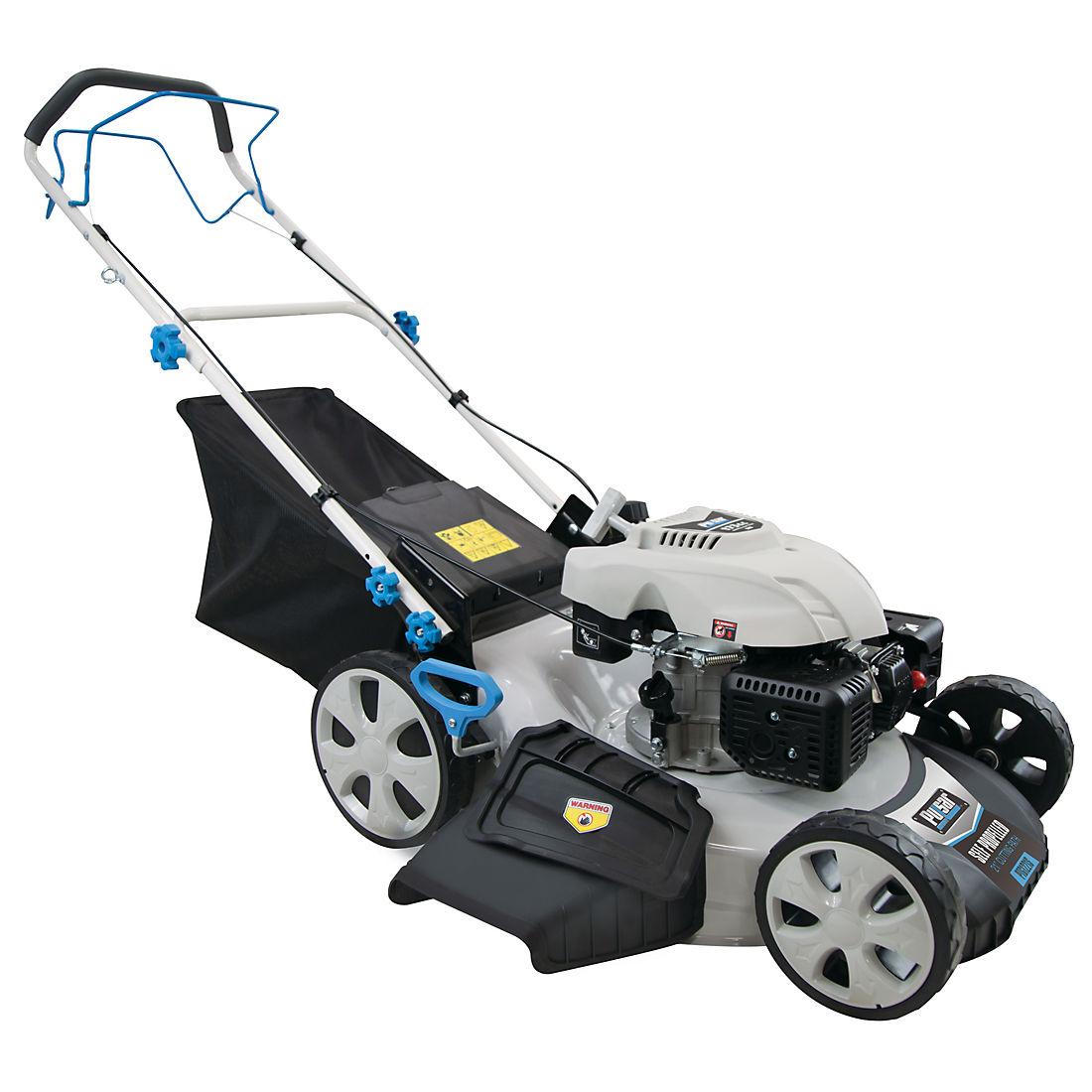 Pulsar 22 Deck Size Gas Ed Lawn Mower White