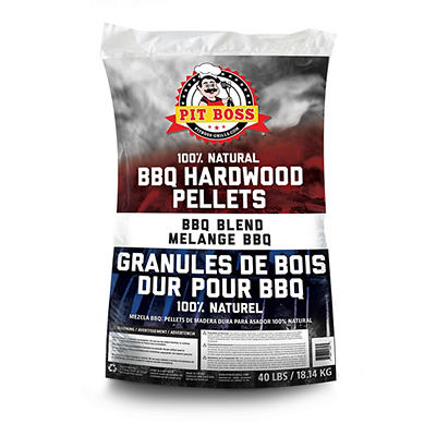 Pit Boss BBQ Blend Pellets, 40 lbs.