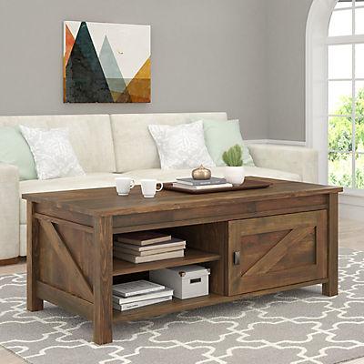 Ameriwood Home Farmington Coffee Table - Rustic Brown