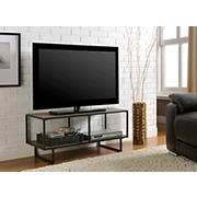 Ameriwood Home Emmett TV Stand/Coffee Table - Weathered Oak