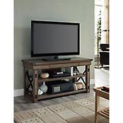 "Ameriwood Home Wildwood 50"" Wood Veneer TV Stand for TVs Up to 50"" - Rustic Gray"