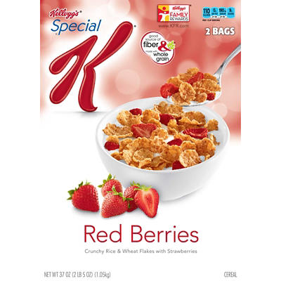 Kellogg's Special K with Red Berries, 2 pk./37 oz.