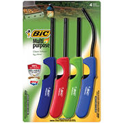 BIC Multi-Purpose 4-Pc. Classic Edition and Flex Wand Lighter Set
