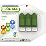 Flonase Allergy Relief Nose Spray, 3 pk./0.62 fl. oz.