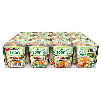 Nong Shim Kimchi Noodle Soup, 12 pk./3.03 oz.