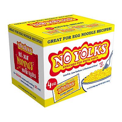 No Yolks Enriched Egg White Pasta, 4 pk./12 oz.
