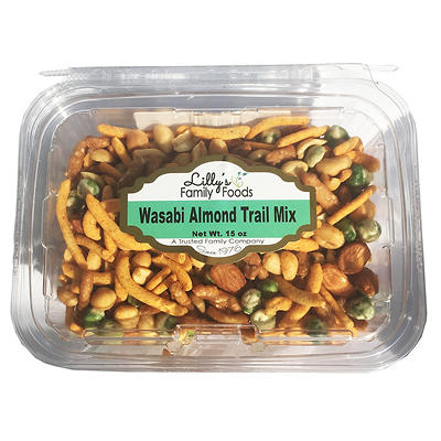 Lilly's Family Foods Wasabi Almond Trail Mix, 15 oz.