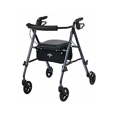 Medline Freedom Ultra-Light Rollator - Smoky Blue