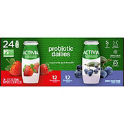 Dannon Activia Probiotic Dailies Low-Fat Yogurt Drink Variety Pack, 24 pk./3.1 fl. oz.