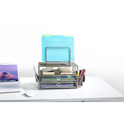 Mesh Desk Organizer with Drawers