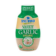 Spice World Organic Minced Squeeze Garlic, 20 oz.