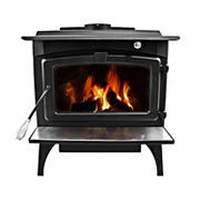 Pleasant Hearth Medium Wood Stove with Variable Speed Blower