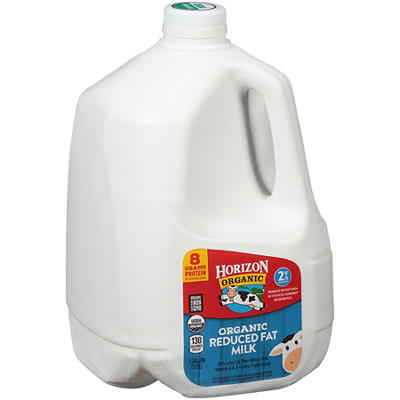 Horizon Organic 2% Milk, 128 oz.