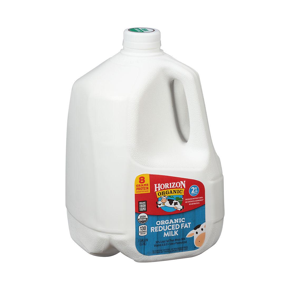 Horizon Organic 2 Milk 128 Oz Bjs Wholesale Club