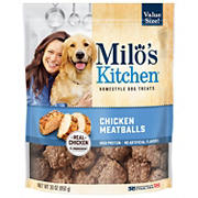 Milo's Kitchen Chicken Meatballs Dog Treats, 30 oz.