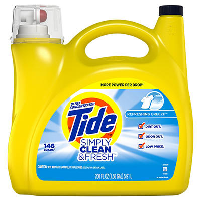Tide Simply Clean & Fresh Refreshing Breeze Ultra Concentrated Liquid