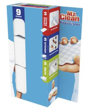 Mr Clean Magic Eraser Variety Pack 9 Ct Bjs Wholesale Club