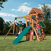 Backyard Play Systems Swing Fort Cedar Swing Set