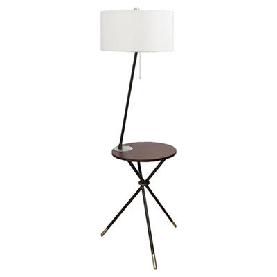 Allites 2-in-1 Side Table with Lamp