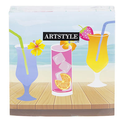 Artstyle 3-Ply Napkins, 120 ct. - Fruit and Drinks