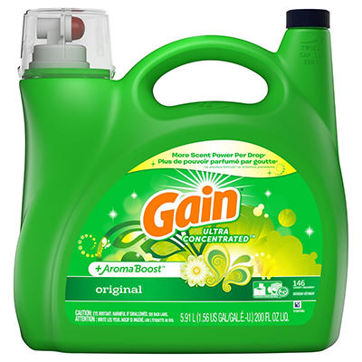 Gain AromaBoost Original Ultra Concentrated Liquid Laundry Detergent,